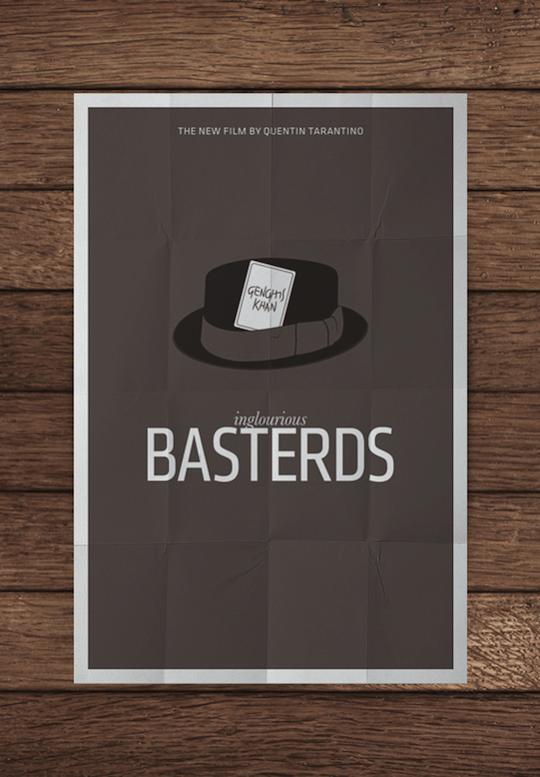 bastards minimalistic movie posters
