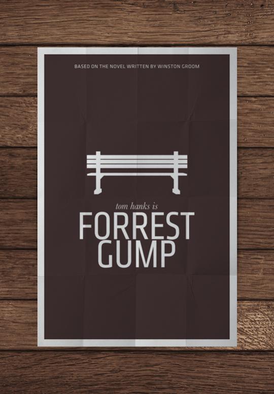 amazing minimalistic movie posters