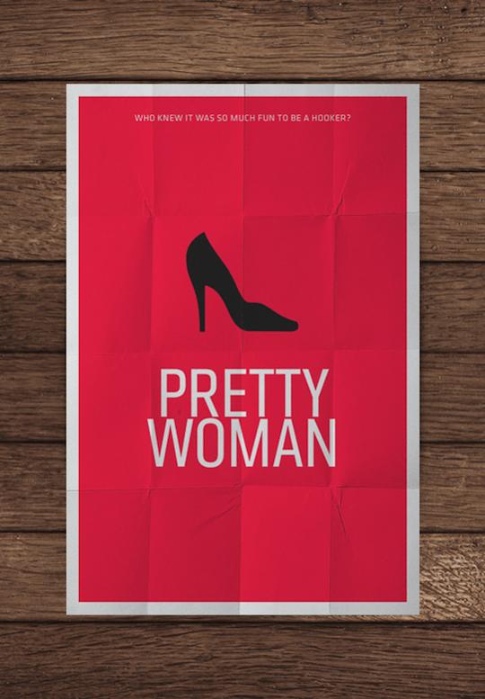 pretty woman minimalistic movie posters