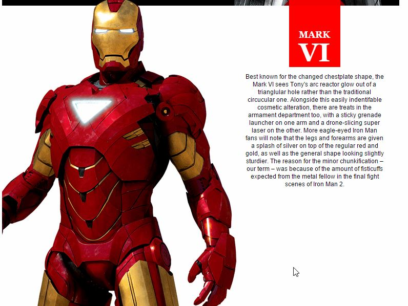 The Evolution Of Iron Man's Suits