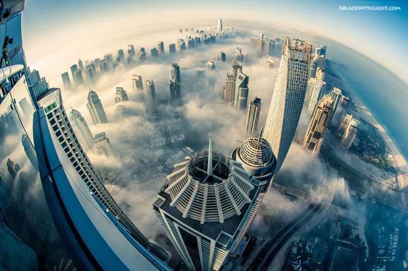 cloud-city-foggy-dubai-aerial-from-above-princess-tower