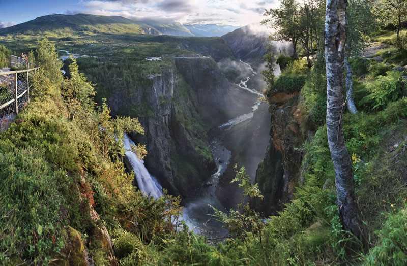 voringsfossen waterfall 2013