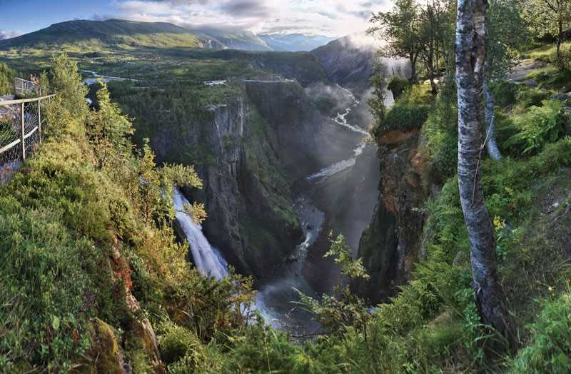 voringsfossen waterfall 2013