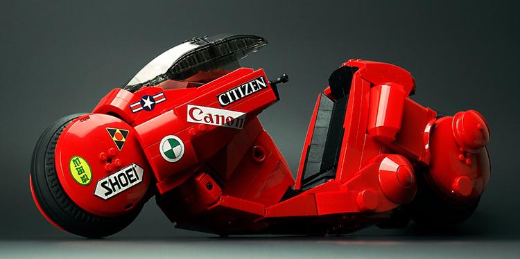 AKIRA Motorcycle's Lego Model