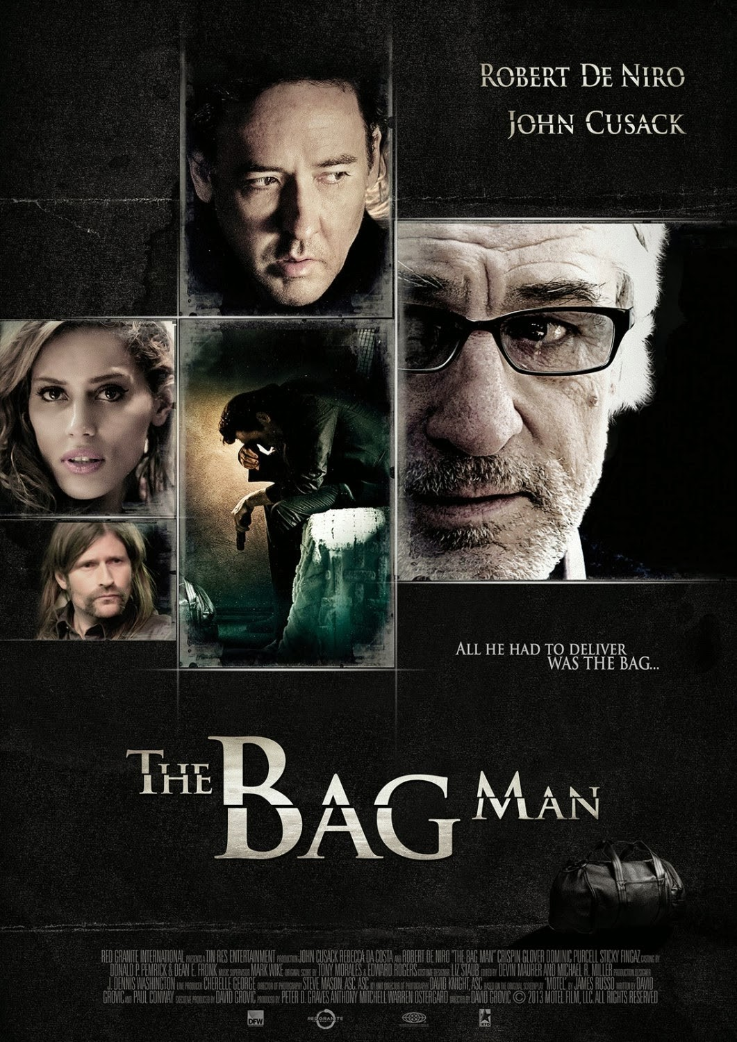 New The Bag Man Movie Poster The Bag Man Movie Poster