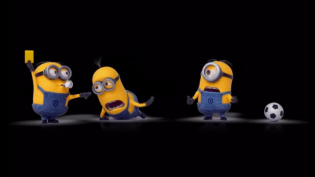 Minions Play World Cup Soccer