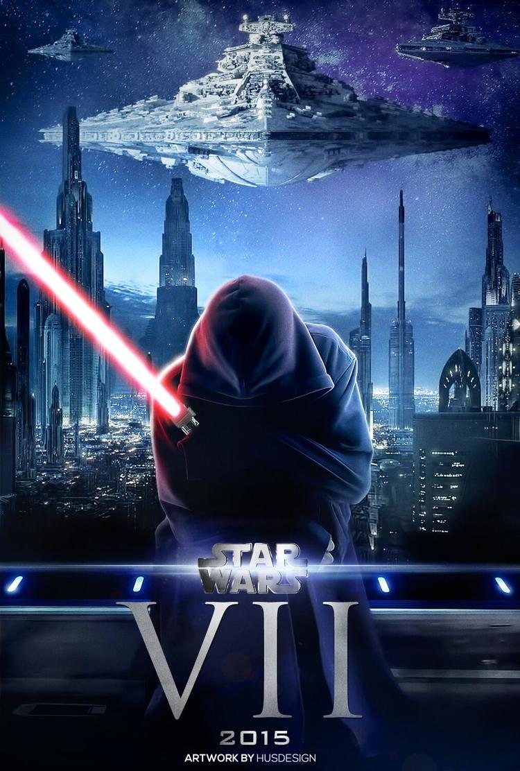 star wars: episode vii - plot details and fan made poster