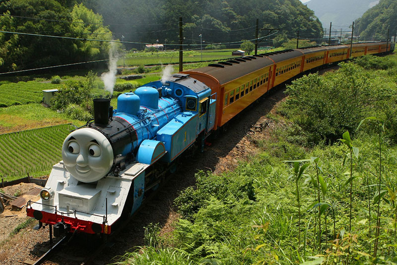 Thomas the Tank Engine Spotted in Japan
