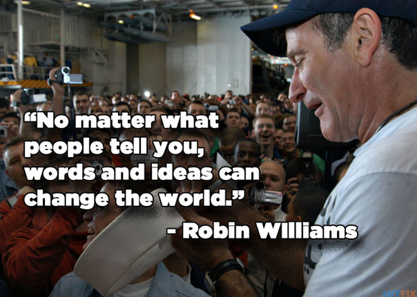 Quotes From Robin Williams About Life And Death