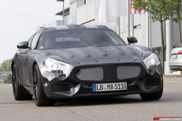 Mercedes-AMG GT Test Video