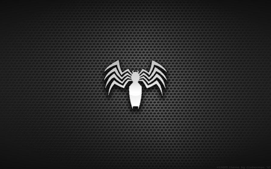 FizX Entertainment   Minimalistic Desktop Wallpapers of SuperHeroesVenom Logo Wallpaper