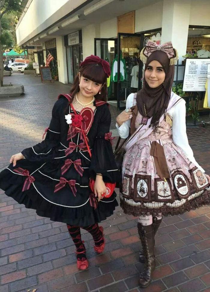Muslim Lolita Hijab Japanese Fashion Anime 52 1