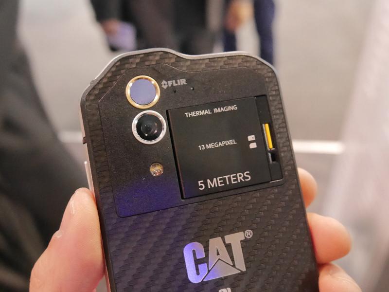 więcej zdjęć kod promocyjny najlepsza cena CAT S60 Thermal Imaging Smartphone (6) | FizX