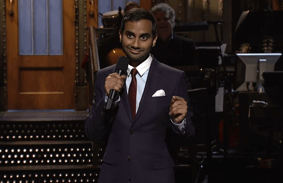 arts aziz ansari monologue transcript