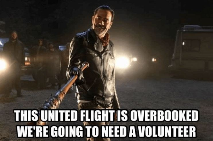 United Airlines Controversy  United-Airlines-Meme-1