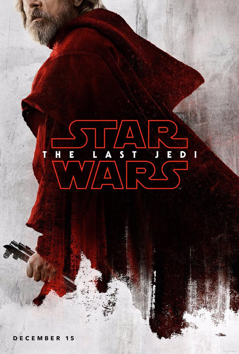 6 brand new star wars the last jedi character posters are