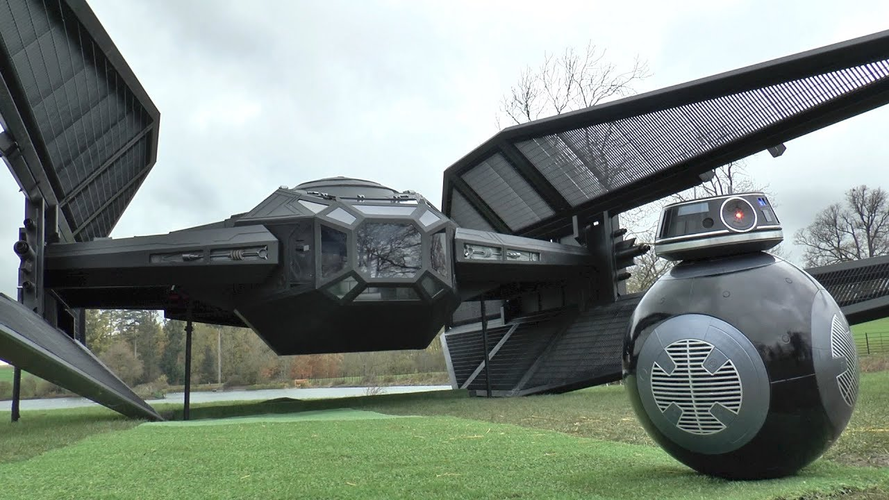 Colin Furze Builds A Life Size Model Of Star Wars Kylo Ren